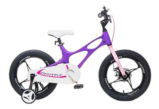 Bicicleta Infantil Royal Baby Space Shuttle 16 Magnesio