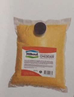 Cheddar Milkault Pouch 3,5 Kg (precio Final X 3,5kg)