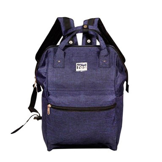 Mochila Para Notebook 2 Em 1 Premium Azul Yes Mc1807