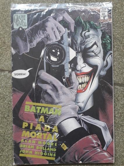 Hq Batman A Piada Mortal Graphic Novel 5 Frete Gratis Carta