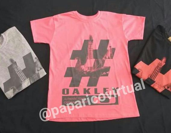 Camisetas Oakley Pacote 3