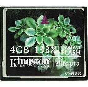 Compact Flash Kingston Elite Pro 4gb Frete 20,00