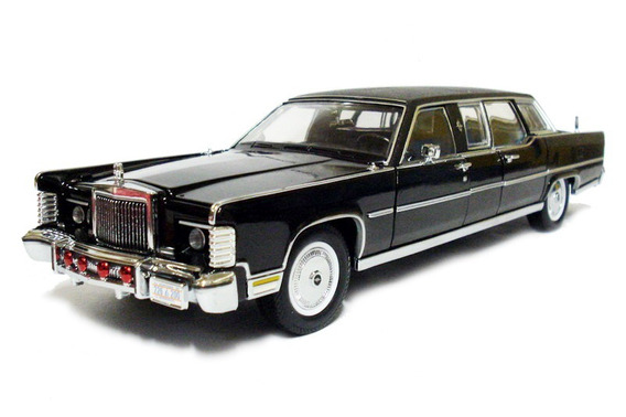 Lincoln Continental 1972 Reagan Car 1:24 Yatming