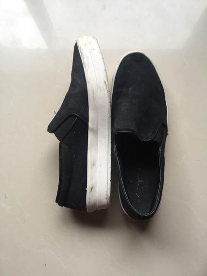 Zapatos Panchas Negras Mujer Talle 40 - Núñez