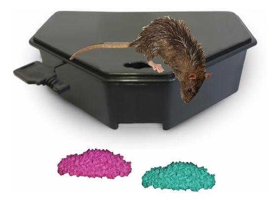 Porta Iscas P/ Ratos (raticida-veneno-girassol) - 4 Unidades
