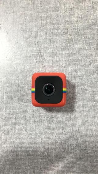 Camera De Acao Polaroid Cube Vermelha + Nf 777885
