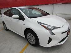 Toyota Prius 2017 Blanco Premium De Demo 3 Años De Garantia