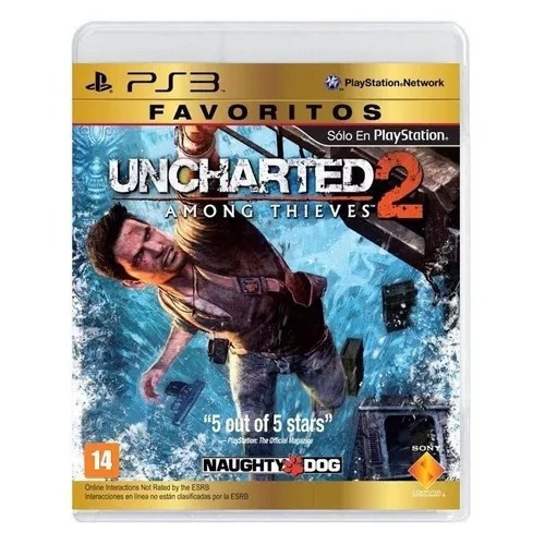 Jogo Uncharted 2 Among Thieves Ps3 Física Novo Frete Grátis