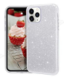 Capa Capinha Case iPhone Glitter Luxo Brinde Pop Socket