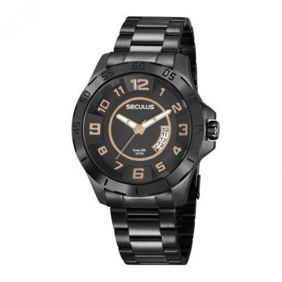 Relógio Seculus Masculino 20743gpsvpa2