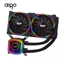 Watercooler Aigo Darkflash Tracer Dt-240 Para Intel E Amd