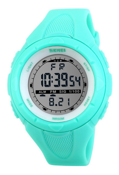 Relógio Feminino Skmei Digital 1074 Verde