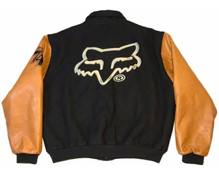 Chamarra Bomber Fox Racing Team Made In Usa