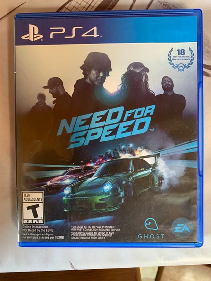 Need For Speed - Ps4 - Mídia Física - Original