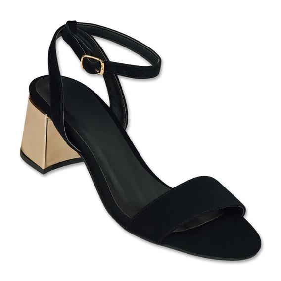 Calzado Dama Mujer Zapatilla Clasben Negro Casual/formal