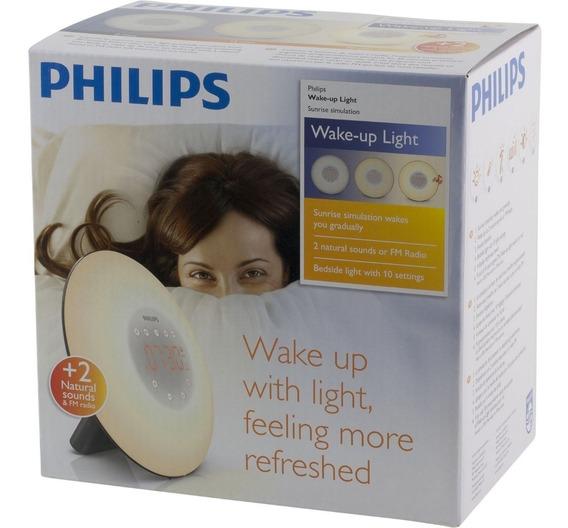 Despertador De Cabeceira Rádio Philips Sunrise
