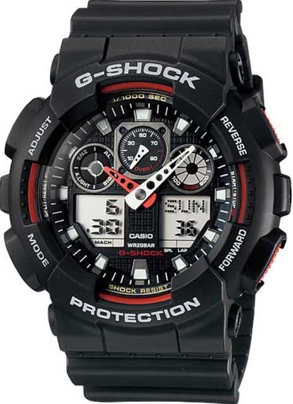 Relógio Casio G-shock Ga-100-1a4dr *three Eye