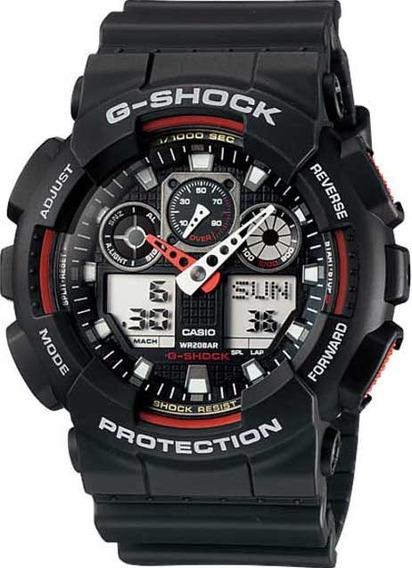 Relógio Casio G-shock Ga-100-1a4dr *three Eye