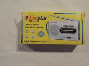 Atacado 10 Radio Livstar Cnn-812e Am/fm