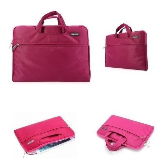 Bolsa Para Notebook Bag Universal 11 Luxo- Okade (rosa)-p