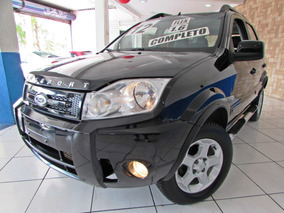Ford Ecosport 1.6 Xlt Flex 2012 Completo Couro Abs Air Bag