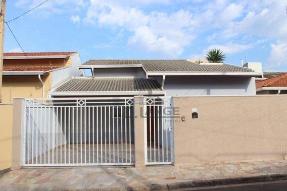 Casa Com 3 Dormitórios À Venda, 130 M² Por R$ 530.000,00 - Residencial Terras Do Barão - Campinas/sp - Ca13884