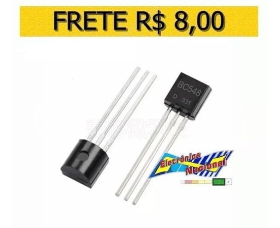 Transistor Bc548 0.1a 30v Npn To-92 - Lote 10 Unidades