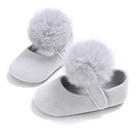 Pompones Para Zapatos De Niñas Paquete De 3 Pares