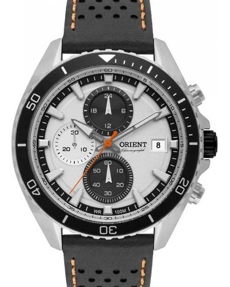 Relógio Orient Masculino Eternal Couro - Mbscc050 S1px