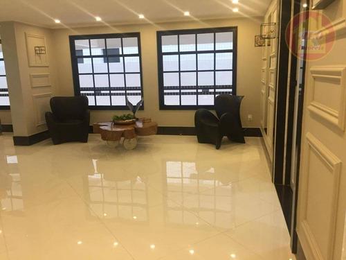 Apartamento À Venda, 140 M² Por R$ 761.200,00 - Canto Do Forte - Praia Grande/sp - Ap3944