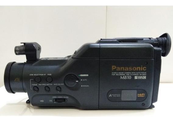 Filmadora Panasonic Nv-ms70e S-vhs   * Para Restauro *  