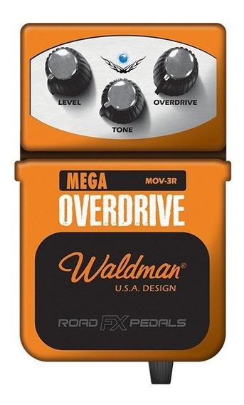 Pedal De Guitarra Waldman Mega Overdrive Mov-3r