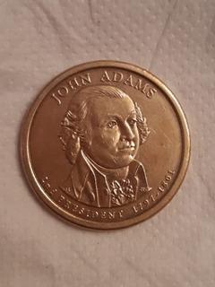 Moneda Antigua Americana: John Adams