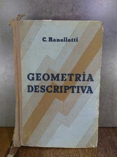 L2669 Elementos De Geometria Descritiva C. Ranelletti