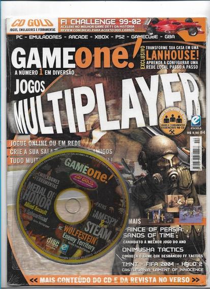 Game One 4 Revista Com Cd Jogos Multiplayer