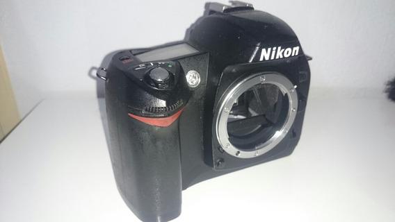 Câmera Nikon D70 +2 Baterias +carregador +2 Cartões (ñ D300)
