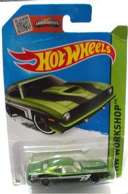 Carro Juguete Hot Wheels Plymouth Aar Cuda 70 Hw Workshop