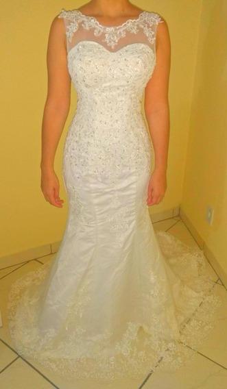 Vestido De Noiva - Semi Sereia