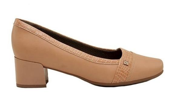 Zapatos Clásico Mujer Piccadilly Cuero Ecológico Nude Taco Folia 4cm