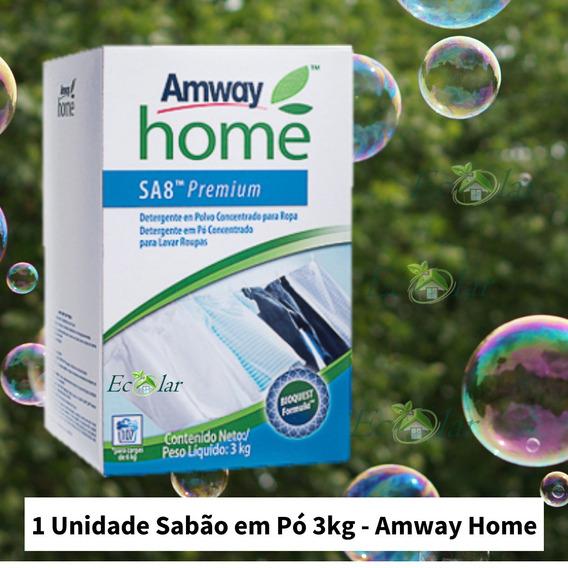 Sabão Em Pó Sa8, Biodegradável, Importado, Amway 1cx 3 Kg