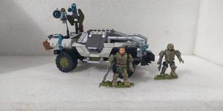 Halo Mega Construx Forgehog Lote Forge Y Marine Warthog War