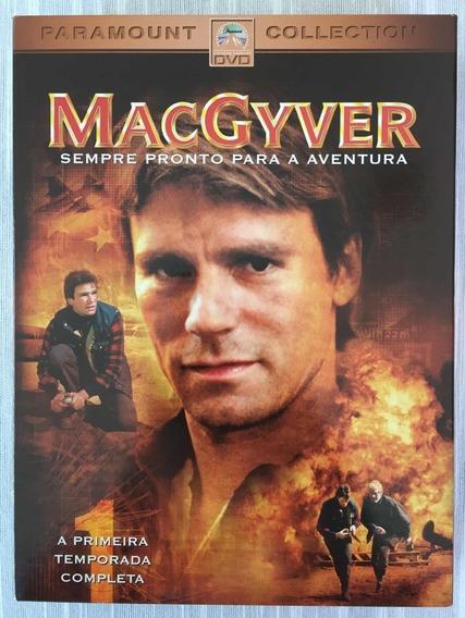Macgyver Primeira Temporada Box Dvd Original Lacrado