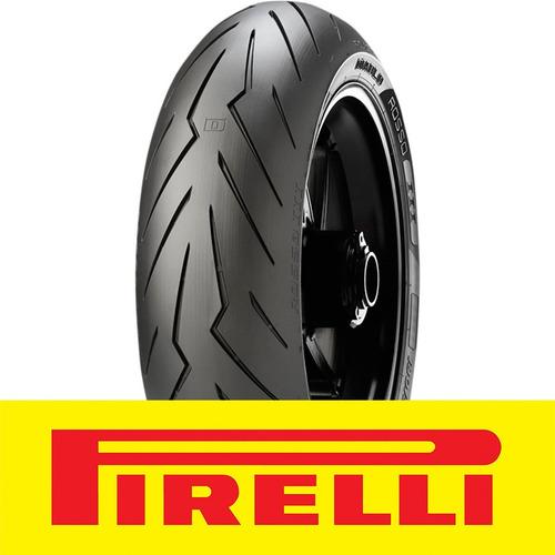 Cubierta Pirelli 190 55 Zr 17 Diablo Rosso 3 75w Cuotas Fas