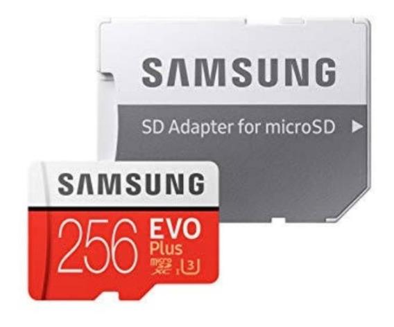Cartão De Memoria 256gb Samsung Memory Card Microsd