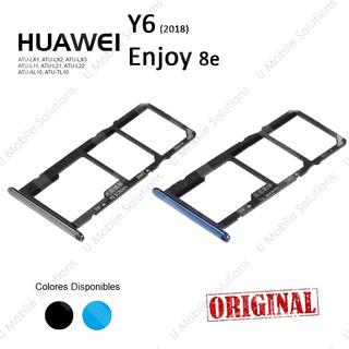 Bandeja Porta Sim Huawei Y6 2018, Enjoy 8e. Atu-lx1 Lx1 Lx3