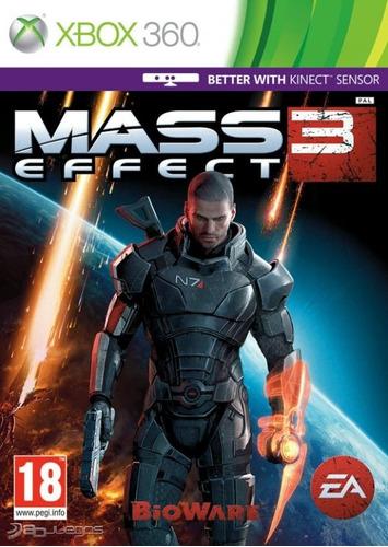 Mass Effect 3 X360 Juego Nuevo Original Fisico