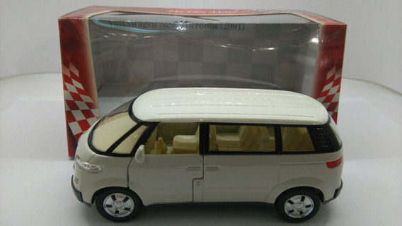Vw New Microbus 2001 1:38 Kinsmart Milouhobbies A1075
