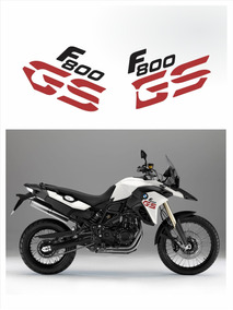 Kit Adesivos Emblema Bmw F800gs 2013 - 2014 Branca