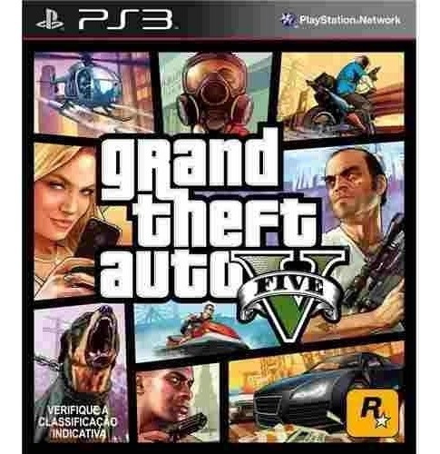 Gta V Mídia Digital 2 / Ps3 /psn / Enviamos Imediatamente!
