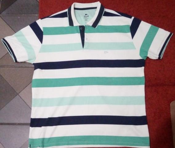 Camiseta Polo Masculina Pool